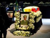 صور.. جنازة عسكرية لرئيس الأركان الإثيوبى فى أديس أبابا