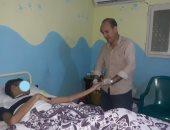صحة الشرقية تكلف مسئول العلاج الطبيعى بالانتقال لتقديم جلسة لمريض بالمنزل