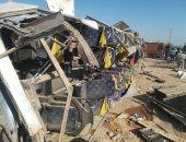 الصحة: وفاة 3 مواطنين وإصابة 18 آخرين فى حادث انقلاب أتوبيس بقنا