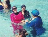 مسئولون نيوزلنديون يعتذرون لمسلمة بعد إخراجها من حمام سباحة بسبب البوركينى
