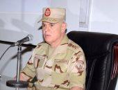 """رئيس الأركان يشهد المرحلة الرئيسية للمشروع التكتيكى """"باسل 13"""" بالجيش الثانى"""