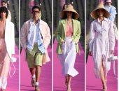 """أسبوع الموضة بباريس.. """"جاكيموس"""" يعرض أحدث أزياء ربيع 2020 بحقل اللافندر"""