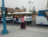 حى السيدة زينب يعلن تشغيل الطفطف خدمة سياحية تجوب الشوارع الرئيسية