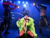 فيديو وصور.. ليدى جاجا تبهر الحضور باستعراضاتها فى نيويورك