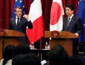 إيمانويل ماكرون فى أول زيارة لليابان منذ توليه رئاسة فرنسا