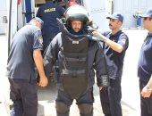 سلبية بلاغ العثور على جسم غريب بمحكمة شمال الجيزة