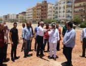 """صور.. مخطط عام لازدواج طريق الخدمة أمام السلام 1 على طريق """"السويس- القاهرة"""""""