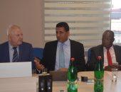 """""""الجويلى"""" يشارك بندوة عن العلاقات الاقتصادية مع صربيا بمناسبة يوم الصداقة الصربية الأفريقية"""