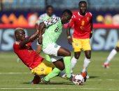 كينيث أوميريو يسجل أول أهداف نيجيريا ضد غينيا فى أمم أفريقيا.. فيديو