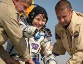 كبسولة تعود بطاقم الرواد إلى الأرض بعد 204 أيام فى الفضاء