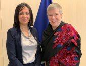 رئيسة القومي للمرأة تلتقى روز جوتمولير نائب سكرتير حلف الناتو