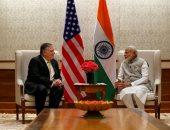 وزير الخارجية الأمريكى يلتقى رئيس الوزراء الهندى فى نيودلهى