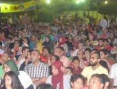 صور .. الشواكيش يتابعون مواجهة مصر والكونغو فى الترسانة