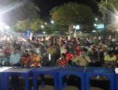 صور: المنياوية يحتشدون لمتابعة المنتخب أمام الكونغو