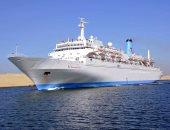 مهاب مميش: عبور 44 سفينة قناة السويس بحمولة 2.9 مليون طن