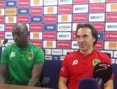 مدرب موريتانيا: نعرف أنجولا جيدا وعلينا التعبير عن أنفسنا فى الكان