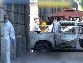صور.. الإرهاب يضرب تونس ..تفجيران انتحاريان يقتلان فرد أمن ويصيبان 9