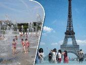 حر افريقيا يحتاج أوروبا.. موجة غير مسبوقة تضرب القارة العجوز والحرارة تتجاوز ال40.. الأرصاد الفرنسية: الأولى منذ عام 1974.. و5 أقاليم أسبانية بدائرة الخطر.. والمواطنون يسبحون فى النوافير هربا من الحرارة (صور)