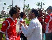 فيديو وصور.. جماهير بوروندى تشيد بتنظيم مصر للبطولة الأفريقية