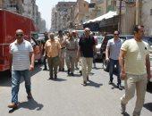 تحرير 700 محضر ومصادرة 9 ألاف مضبوطة خلال حملة لإزالة الاشغالات بالمنصورة