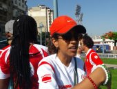 مشجعة من بوروندى:الإسكندرية مناخها رائع ومصر بلد الأمن والأمان