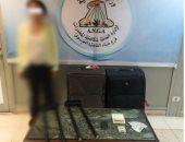 إحباط تهريب 2.5 كيلو جرام كوكايين و4 ملايين جنيه عبر ميناء القاهرة الجوى