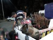 إزالة 261 حالة إشغال وتعدى غرب مدينة أسوان.. صور