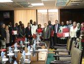 وزارة الكهرباء تحتفل بتخريج دفعة متدربين جدد من دولة غينيا