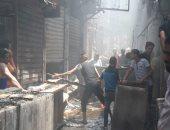 السيطرة على حريق بمخزن تابع لمطعم بالمنصورة نتيجة تسريب غاز