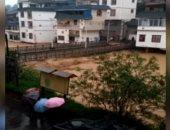 """""""الشوارع بقت بحيرات"""".. شاهد الآثار المدمرة لفيضانات وأمطار جنوب الصين"""