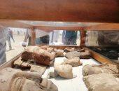 اكتشاف 21 مقبرة أثرية ترجع لعصور مختلفة بالفيوم
