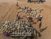 اتلاف 5 آلاف لغم وعبوة  ناسفة زرعها الحوثى فى محافظة حجة اليمنية