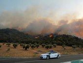 انتشار حرائق الغابات فى إسبانيا بسبب الموجة الحارة