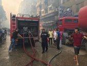 النيابة تنتدب الأدلة الجنائية وتستعجل التحريات لبيان سبب حريق مطعم بكفر الزيات