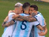 الأرجنتين ضد فنزويلا.. لو سيلسو يضيف هدف التانجو الثانى فى الدقيقة 74