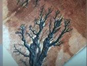 """""""بيكهرب الخشب"""".. شاب صينى يرسم لوحاته الفنية بطريقة غريبة (فيديو)"""