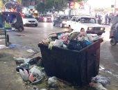 سكان شارع شبرا يتضررون من تراكم القمامة ويستغيثون من الروائح الكريهة