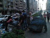بالصور .. حملات لمواجهة التصدي لظاهرة النباشين والفريزة شرق الاسكندرية