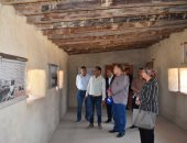 محافظ الفيوم ووفد من وزارة الآثار يتفقدون متحف كوم أوشيم والمنطقة المحيطة