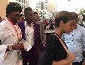 الكاميرون ضد غانا.. إيتو يصل استاد الإسماعيلية.. فيديو