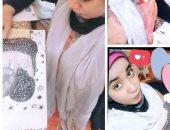 """""""أسماء"""" من الإسكندرية تشارك """"اليوم السابع"""" بصور لرسوماتها الفنية"""
