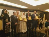مستشار العاهل الأردنى يكرم  رئيس مركز تعليم الطلاب الوافدين بالأزهر