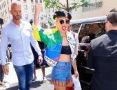 ليدى جاجا تدعم المثليين بحفل غنائى فى نيويورك