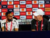 أجيري يعقد مؤتمرا صحفيا للحديث عن مباراة جنوب أفريقيا