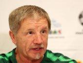 """مدرب جنوب أفريقيا عن مواجهة المغرب: """"الدفاع خير وسيلة للفوز"""""""