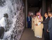 صور.. ولى العهد السعودى يزور متحف هيروشيما التذكارى للسلام