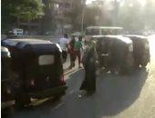 قارئ يرصد موقف توك توك عشوائى بشارع أحمد عرابى بالمهندسين