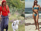 صور.. عارضة أزياء تركية تترك منصة الموضة لرعى الأغنام.. اعرف التفاصيل