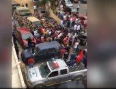 شاهد.. اشتباكات جبل لبنان وإطلاق نار كثيف خلال زيارة وزير الخارجية اللبنانى