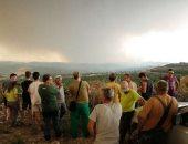 المئات يتركون منازلهم .. إخلاء السكان فى إسبانيا بسبب حرائق الغابات